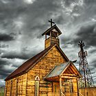 Goldfield Ghost Town - Church II  by Saija  Lehtonen