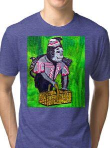 WIZARD OF OZ FLYING MONKEY Tri-blend T-Shirt