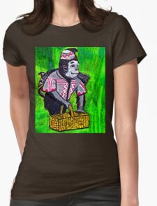 WIZARD OF OZ FLYING MONKEY Womens Fitted T-Shirt