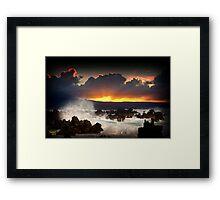 SunRise............ Framed Print