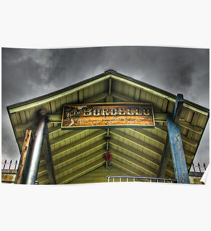 Goldfield Ghost Town - Lu Lu's Bordello  Poster