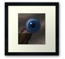 Who's Watching You? Framed Print