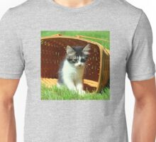 Kitten Licking Her Lips Unisex T-Shirt