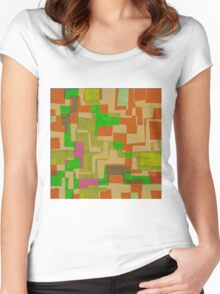 1362 Abstract Thought Women's Fitted Scoop T-Shirt