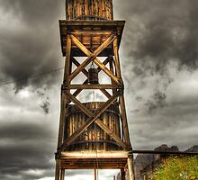 Goldfield Ghost Town - Water Tower  by Saija  Lehtonen