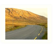 The Road Most Travelled Art Print