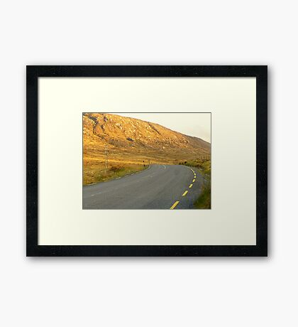 The Road Most Travelled Framed Print