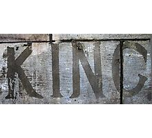 Cement King Photographic Print