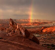 Beauty Of The Sandstone Landscape by Bob Christopher