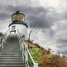 Owl's Head Lighthouse by Lori Deiter