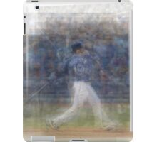 Jose Bautista Swing Bat Flip iPad Case/Skin