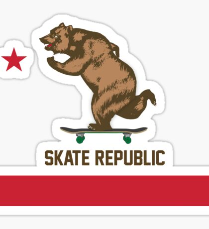 Skate Republic Sticker