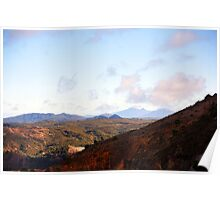 Beautiful Tasmania - Range view Poster