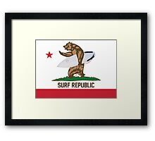 Surf Republic Framed Print