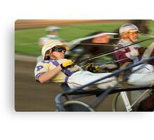 Harness Racing Canvas Print