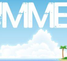Need Summer Now Sticker