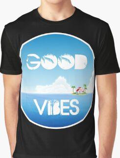 Good Vibes Island Graphic T-Shirt