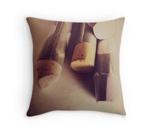 OIL PASTEL #NEUTRAL Throw Pillow