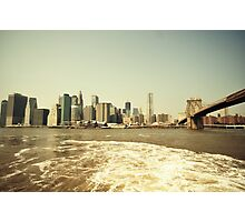 East River wash Photographic Print