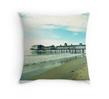 Old Orchard Pier  Throw Pillow