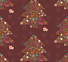 Christmas Pattern 10 by BlueLela