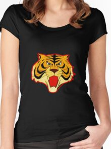 Tiger Mask, the mask of the warrior Women's Fitted Scoop T-Shirt