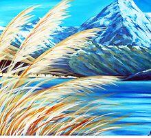 Mt Cook, Aoraki NZ by Ira Mitchell-Kirk