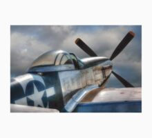 P51 Mustang - Ready for action Kids Tee