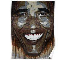 """President Obama """"Wet Paint"""" Poster"""