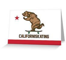 Californiskating Greeting Card