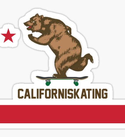 Californiskating Sticker