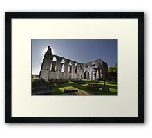 Bolton Abbey under a Moonlit Night Framed Print