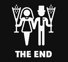 The End (Wedding / Marriage / Champagne / White) Unisex T-Shirt