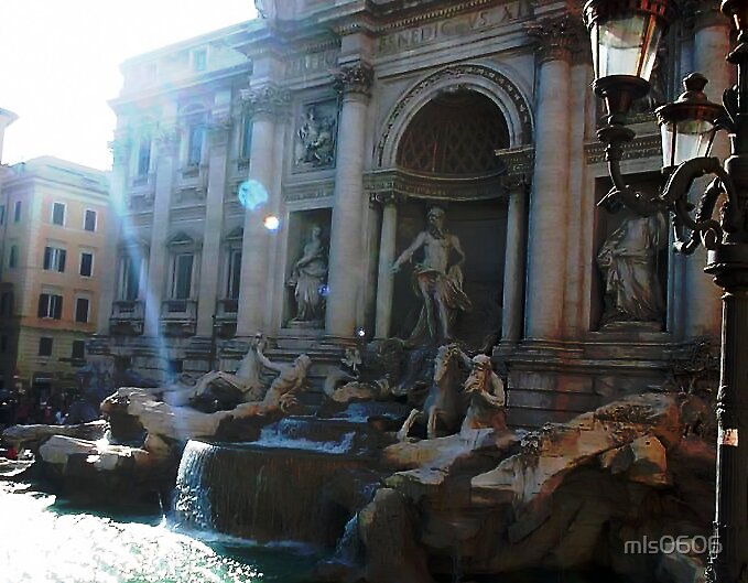 """The Trevi Fountain I"" by Micah Samter"