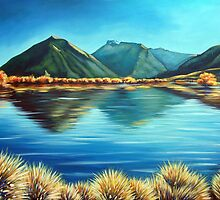 Glenorchy, New Zealand by Ira Mitchell-Kirk by Ira Mitchell-Kirk