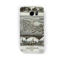 Panoramic Maps View of Annville Pennsylvania 1888 Samsung Galaxy Case/Skin