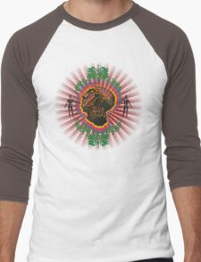 What Color is Your Conscience? Men's Baseball ¾ T-Shirt