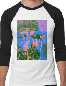 0527 Abstract Thought Men's Baseball ¾ T-Shirt