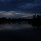 2nd dark Blue sunset Omero, WI May 17, 2012 by Joshua Fronczak