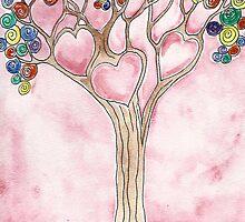 Tree of Hearts by Deb Coats