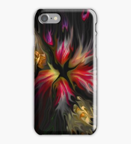 iPhone Case of painting...From Darkness...Must Come Light... iPhone Case/Skin