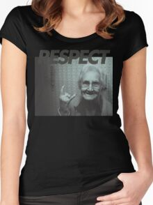 Respect Women's Fitted Scoop T-Shirt