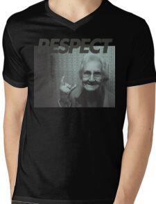 Respect Mens V-Neck T-Shirt