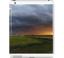 Stormy Sunset In Alberta iPad Case/Skin