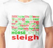 Jingle Bells Typography Unisex T-Shirt