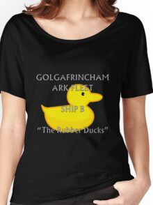 Golgafrimcham B-Ark (Hitchhikers Guide to the Galaxy) Women's Relaxed Fit T-Shirt