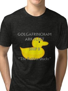 Golgafrimcham B-Ark (Hitchhikers Guide to the Galaxy) Tri-blend T-Shirt