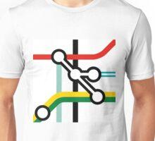 Tube Junction No1 Unisex T-Shirt