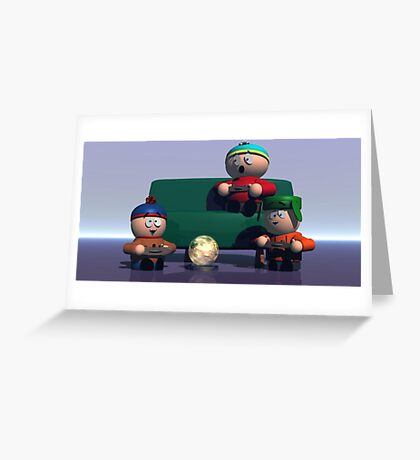 South Park Greeting Card