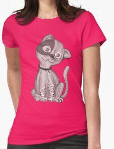 Meeeeeeeeeow Womens Fitted T-Shirt